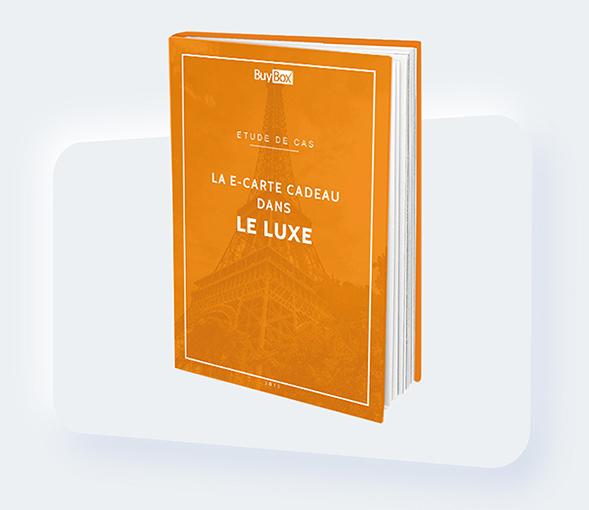 Couverture carte cadeau luxe