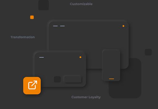 gift card device responsive illustration